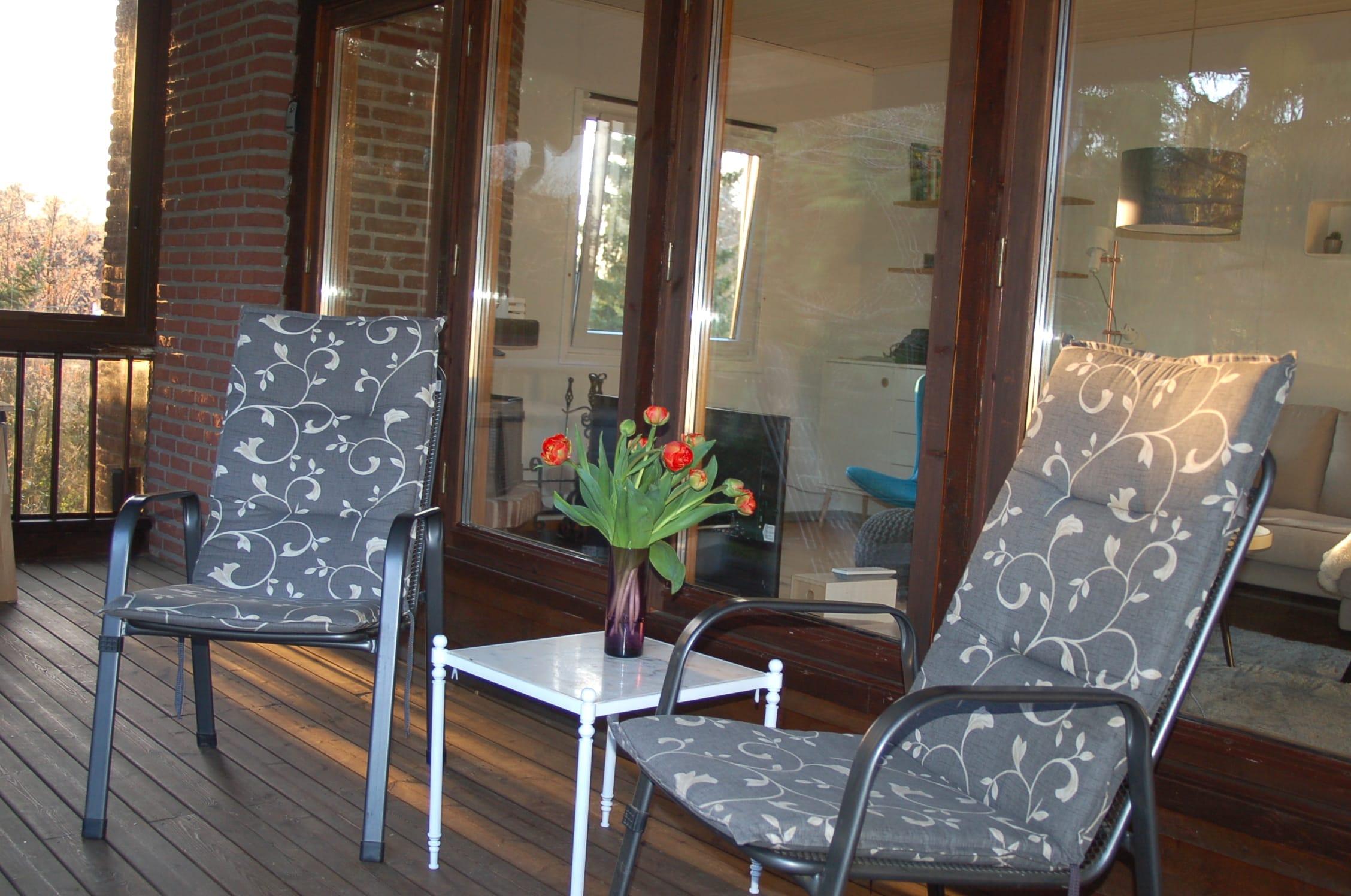 Veranda Terrasse Ferienhaus